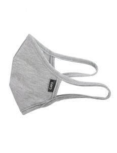 CAPO-MOUTH-NOSE-MASK-1 single pack, without filters grey 2