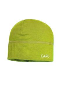 CAPO-WOOL JERSEY CAP merino wool apple 1sz.