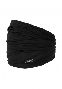CAPO-WOOL JERSEY MULTI TUBE merino wool black 1sz.