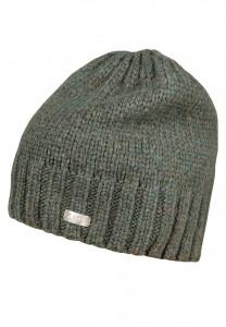 CAPO-NICE CAP SLEEK knitted beanie, ribbed edge