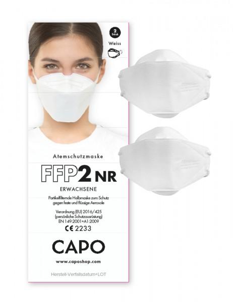 FFP2 Maske für Erwachsene 2er-Pack