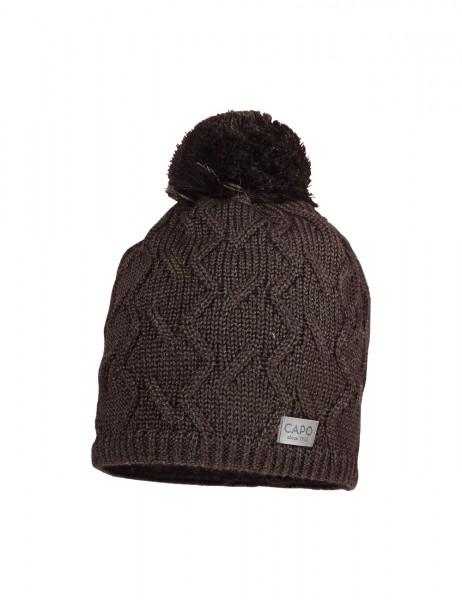 CAPO-BJELLE CAP wool pompon