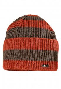 CAPO-STEF CAP short cap, stripes, turn up