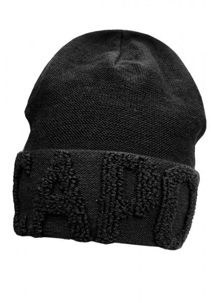 CAPO-TERRY CAP turn up, logo in terry look