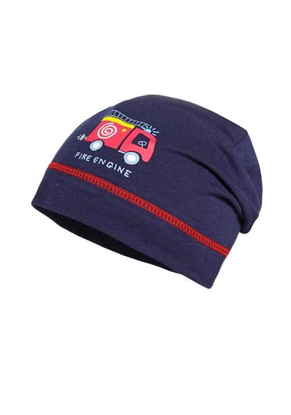 "MINI BOY-Beanie, ""fire engine"""