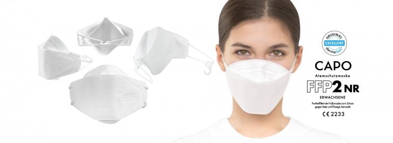 NEW maximo - CAPO FFP2 Atemschutzmasken jetzt erhältlich