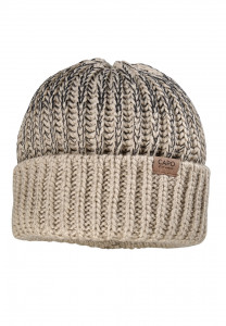 CAPO-SHAYE CAP knitted cap, ribbed structure, turn up