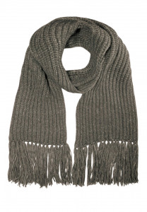 CAPO-NICE SCARF knitted scarf, frings