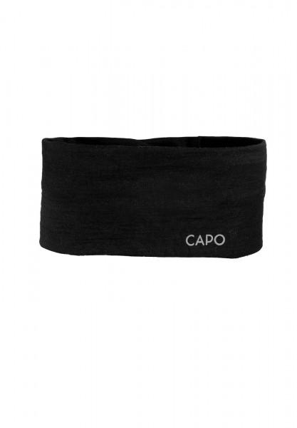 CAPO-WOOL JERSEY HEADBAND merino wool