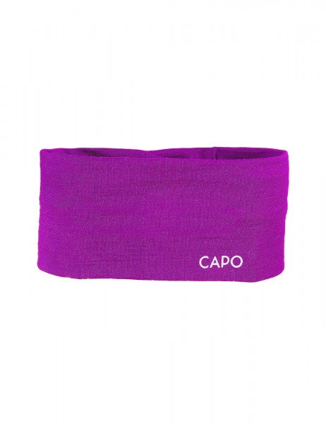 GOTS CAPO-WOOL JERSEY HEADBAND merino wool
