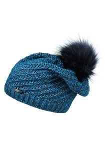 CAPO-CAPPUCHINO CAP fake fur pompon